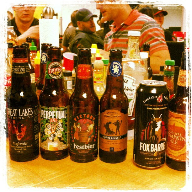 It's gonna be a long night… #beertasting #gmg (Taken with  Instagram )