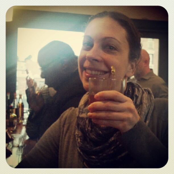 My drinking partner @anongirlieindc is at it again!  (Taken with  Instagram )