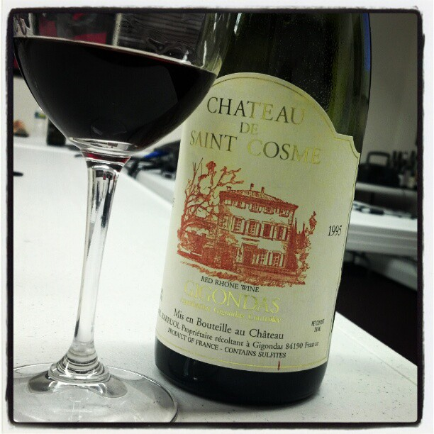 #ND '95 Chateau de Sainte Cosme  (Taken with  Instagram )