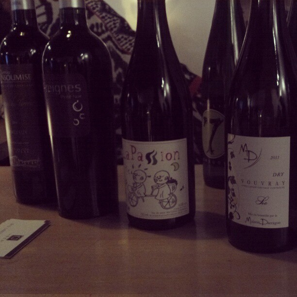 A few of the wines we're tasting tonight #DCWineWeek