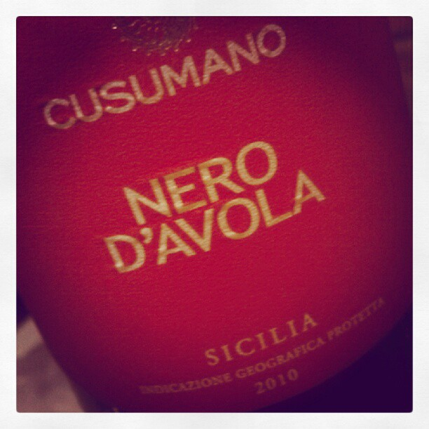 An Italian red before bed! #Mondaynite (Taken with  Instagram )