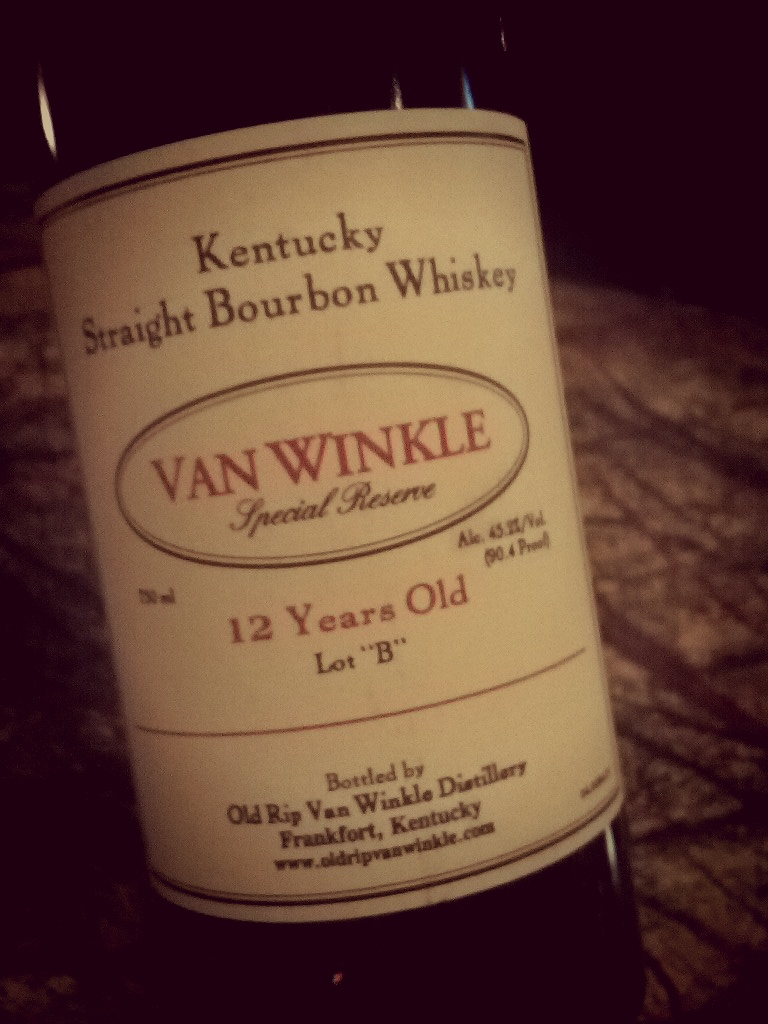 And for the nightcap…Pappy van Winkle special reserve - 12yr old #whiskey