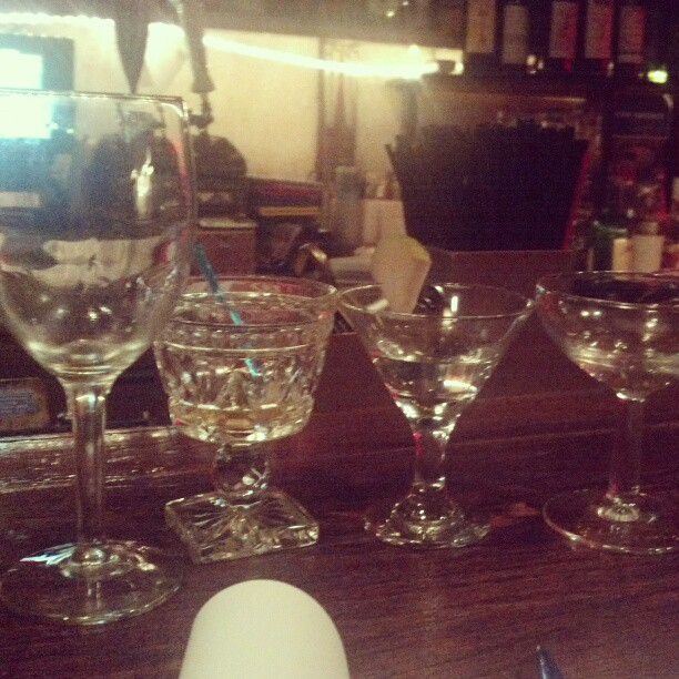 The damage so far @wisdomdc #cocktailtasting #gmg