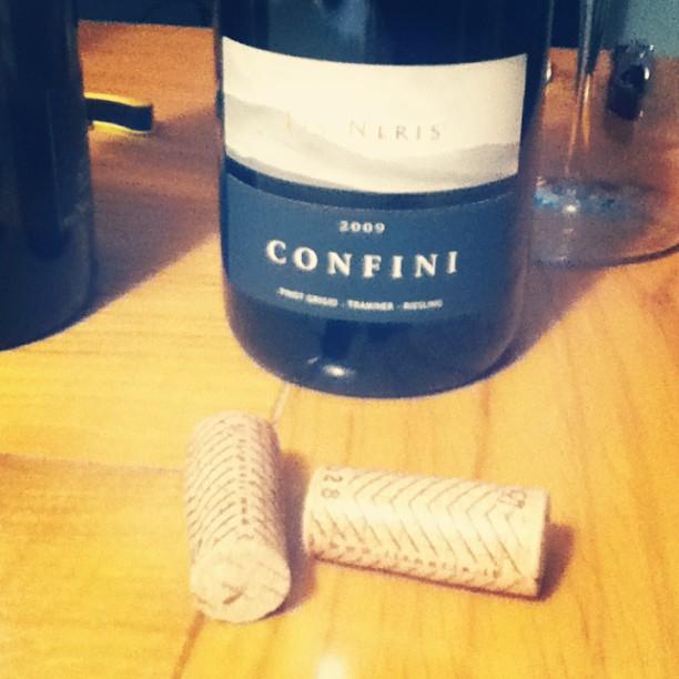 Late harvest Gewürztraminer, Pinot Grigio. Regular Riesling. Lychee, peach, nice acidity #italianwhite #wine