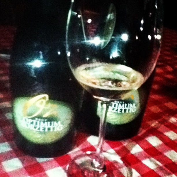 A little bubbly in the afternoon at Zorzettig #tastefriuli
