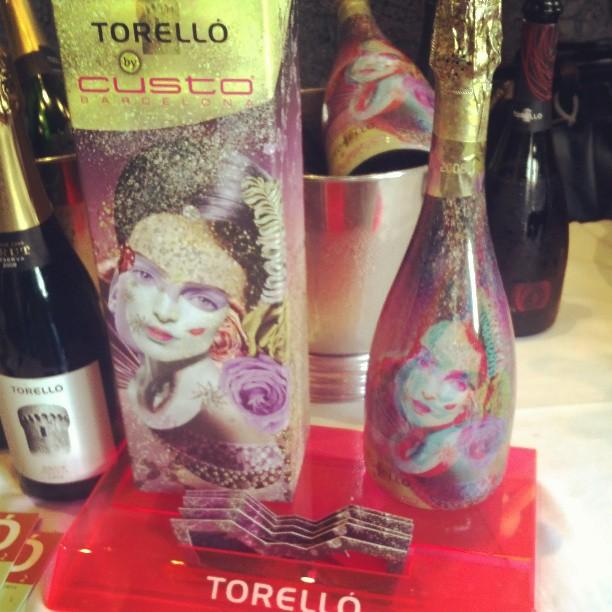3D bottle designed by Custo Barcelona -Torello Cava