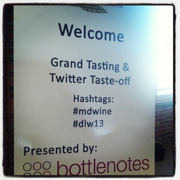 This is happening #dlw13 #MDwine
