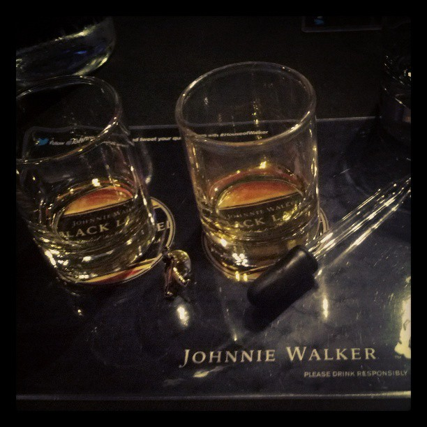 Friday night #blacklabel #HouseofWalker
