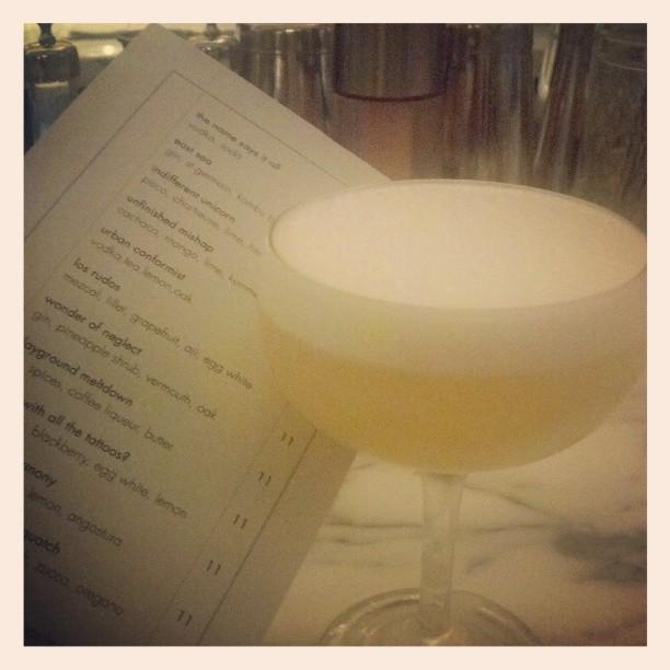 Los Rudos #mezcal #cocktails #cocktailing #instadrinks