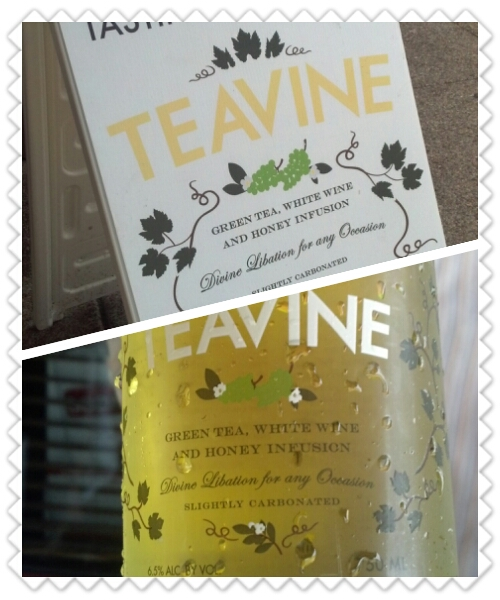 Not that you need to do anything to wine…. But Teavine, a green tea, white wine and honey infusion, is perfect for brunch or a crisp early evening sipper. Enjoy!!    Drinkteavine.com