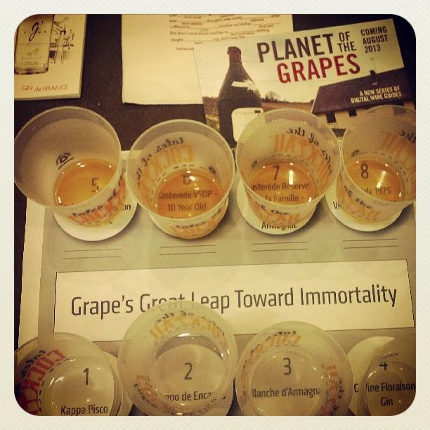 Good Morning! #grapespirits #TOTC (at Queen Anne Ballroom Hotel Monteleone)