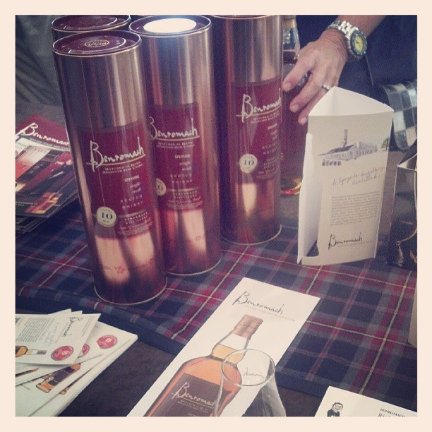 Benromach tasting room #speyside #scotch #TOTC  (at Tales of the Cocktail 2013)
