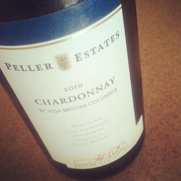 My afternoon sipper. Reminder of fun times had at #WBC13 #chardonnay #BritishColumbia