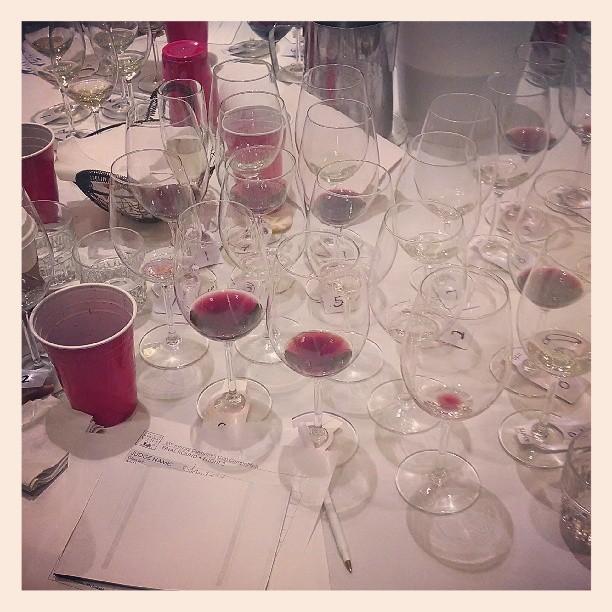 The final round #wine #winetasting #judgement