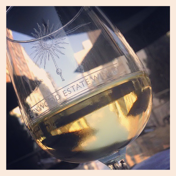 Such a beautiful day, I'm sippin outside. Melon, butterscotch and vanilla. Hints of oak on the finish #chardonnay (at The Tasting Room Wine Bar & Shop)