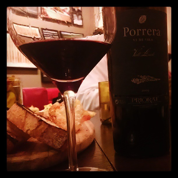 Lunchin' #WinesofPriorat #VallLlach