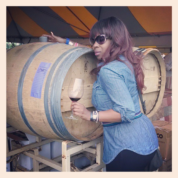 Barrel hugging at Old Westminster #winelover #hugthewineurwith #mwf13