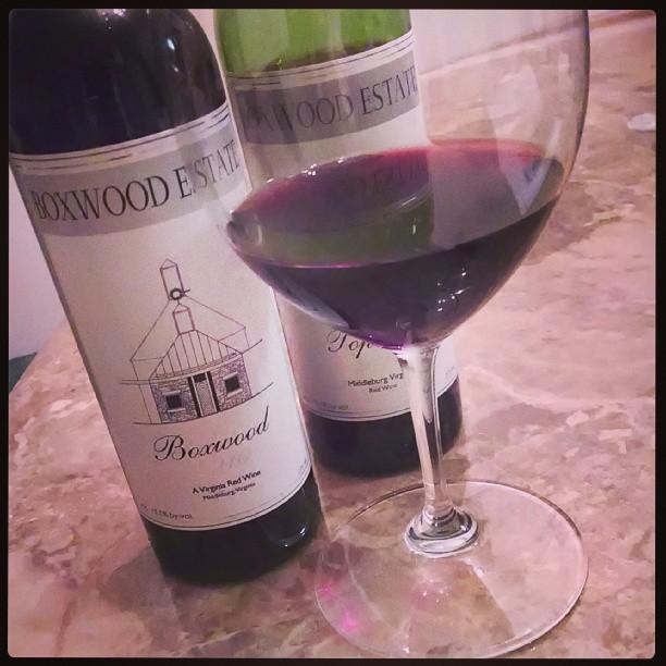 A couple of blends to celebrate #MerlotMe #winetasting #redwine #vawine #BoxwoodEstate #GirlMeetsGlass