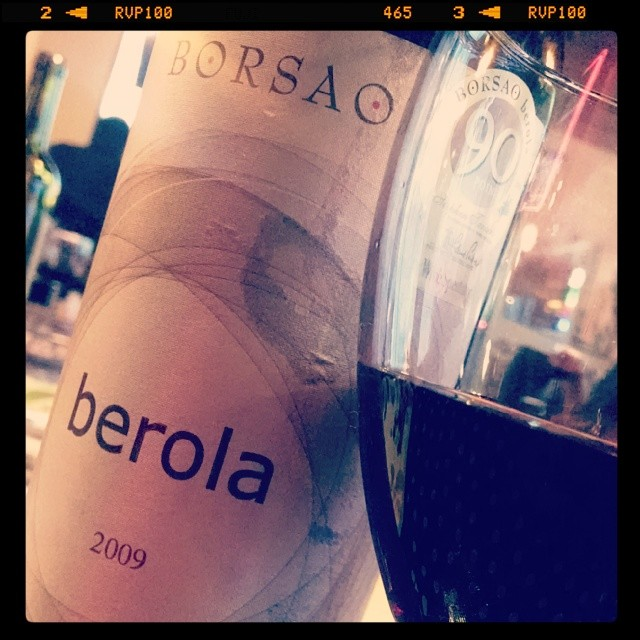 Borsao Berola 2009 - Garnacha, Syrah, Cab Sauv. Full bodied, deep ruby color and rich dark berry flavors. Aged in oak and also spent some addl time in the bottle. This is what you want to pair with those smoky, BBQ sauce slathered ribs!! #wine #wineanddine #winetasting #spanishwine #Spain