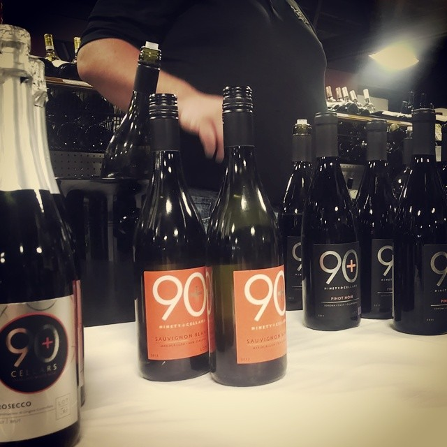90 Plus. Buys excess wines from around the world, passes the savings on to you #wine #winetasting  (at Binny's Beverage Depot)