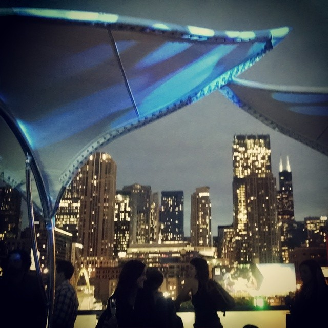 All my pics don't have to have drinks in em lol!! #ChicagoSkyline @sapphireginusa #MIB2014  (at IO Urban Roofscape)