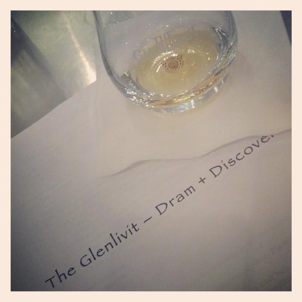 A little dram on a Tuesday #Glenlivet #scotch