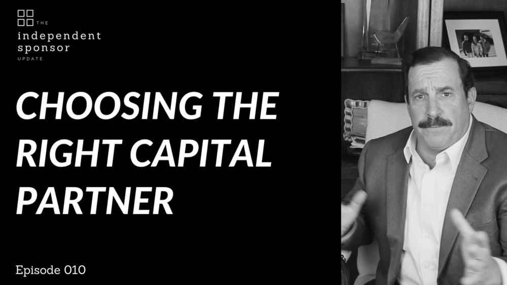 Choosing the Right Capital Partner