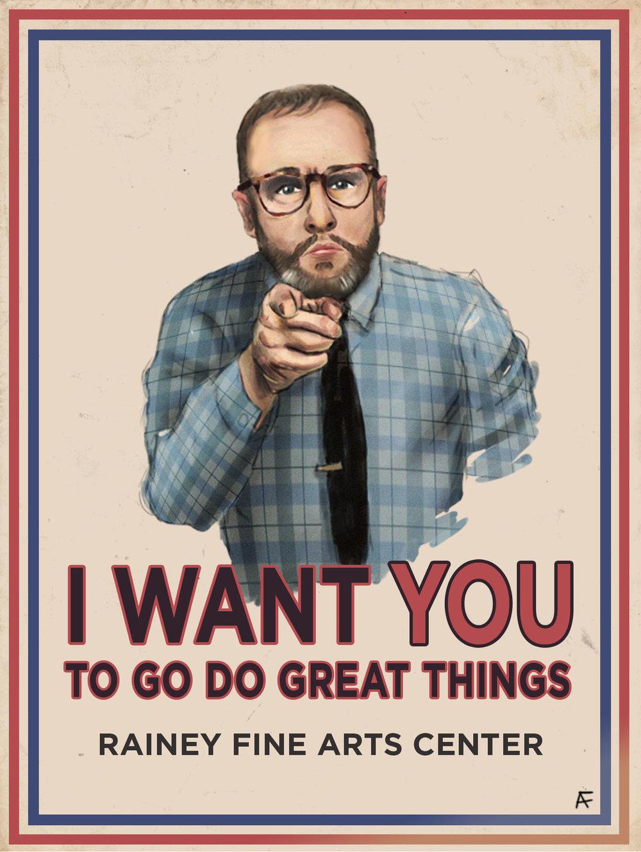 Frazier_Parody Professors Series_ Go Do Great Things_Digital Art_19inx25.264in.jpg
