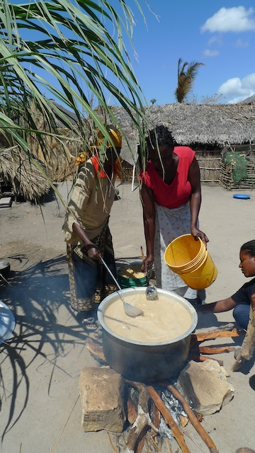 Nema preparing the porridge.jpg