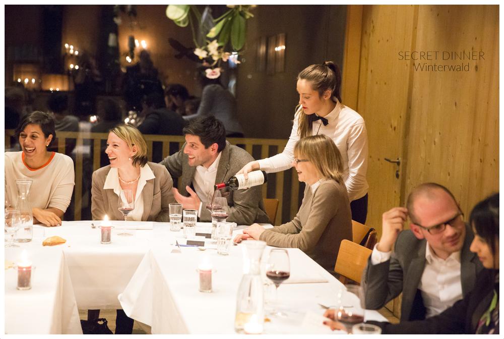 SECRET DINNER Winterwald