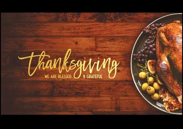 Happy Thanksgiving!! We are thankful for you! We are serving a Community Thanksgiving meal today at 3pm in the Fellowship Hall.  Everyone is welcome!! #MVCOC