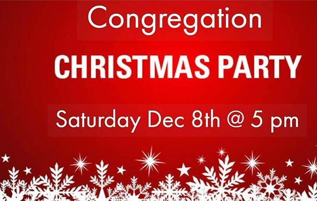 Join us Saturday night at 5 PM for our Christmas Celebration! Snacks, ornament making and caroling by candlelight!