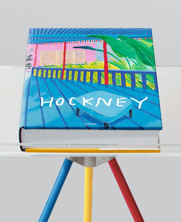 Adjustable bookstand designed by Marc Newson accompanies every edition. Priced at £1,750.