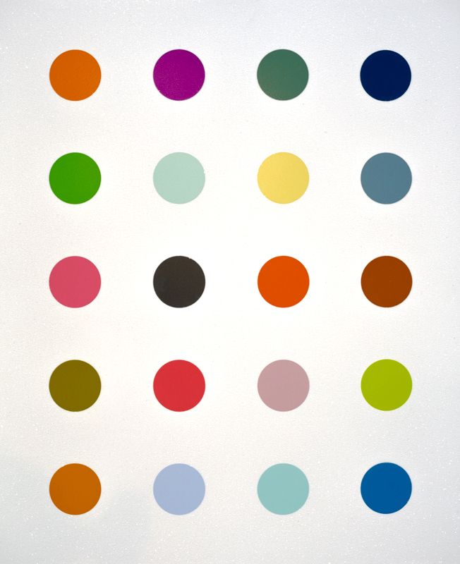 Iconic Art by  Damien Hirst   '3-Methylthymidine' is a wonderful silkscreen with diamond dust, signed limited edition of 100, framed behind UV glass and complete with full provenance having sold out in 2015. Price on application, ranging from £10,000 - £15,000 bracket.   C  ontact Reem Gallery for additional information