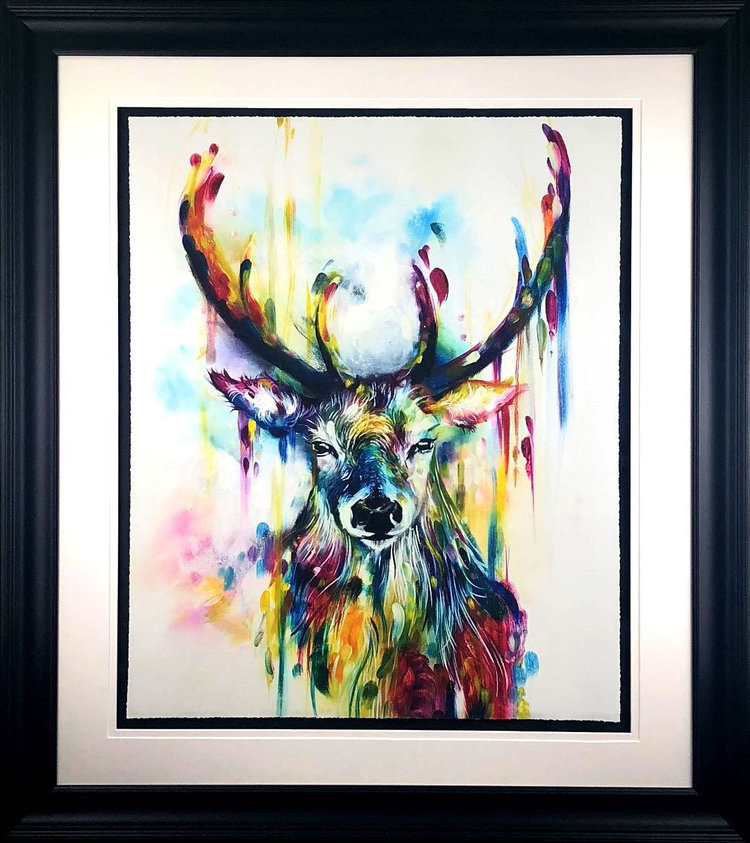 'OPTIC'   now available from  Katy Jade Dobson  - we are down to our very last couple of editions following the end of January release. Available to purchase online and in the gallery now at £395.  Click here for further details.