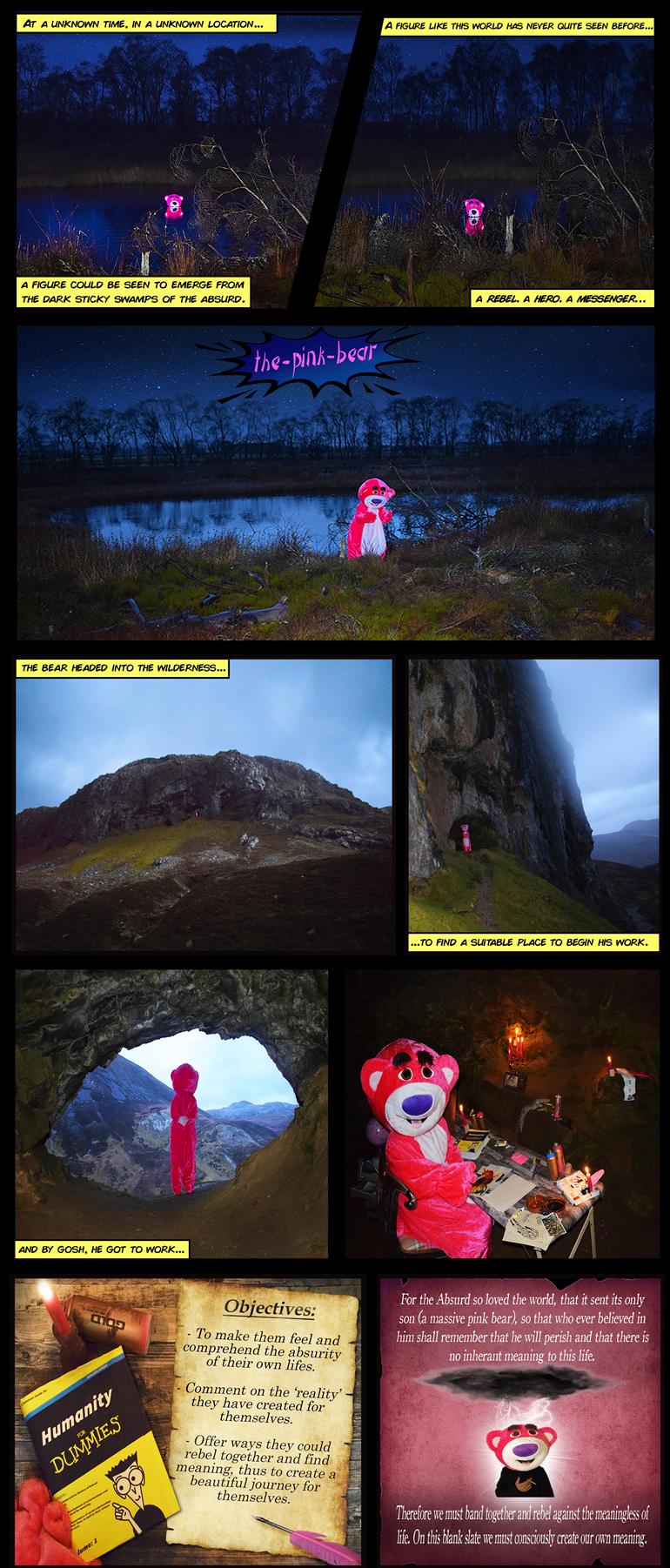 Reem Gallery - The Pink Bear comic