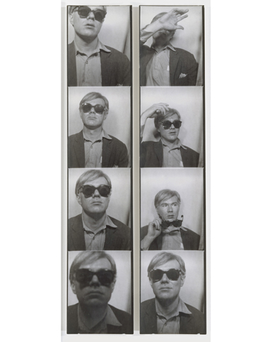 "Andy Warhol ""Self Portrait"""