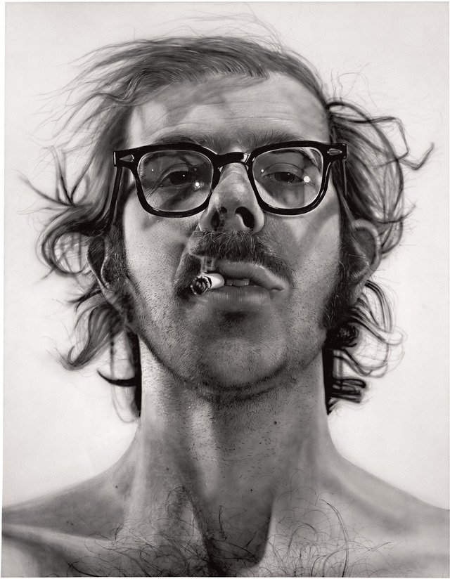"Chuck Close ""Self Portrait"""