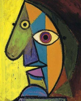 "Pablo Picasso ""Self Portrait"""