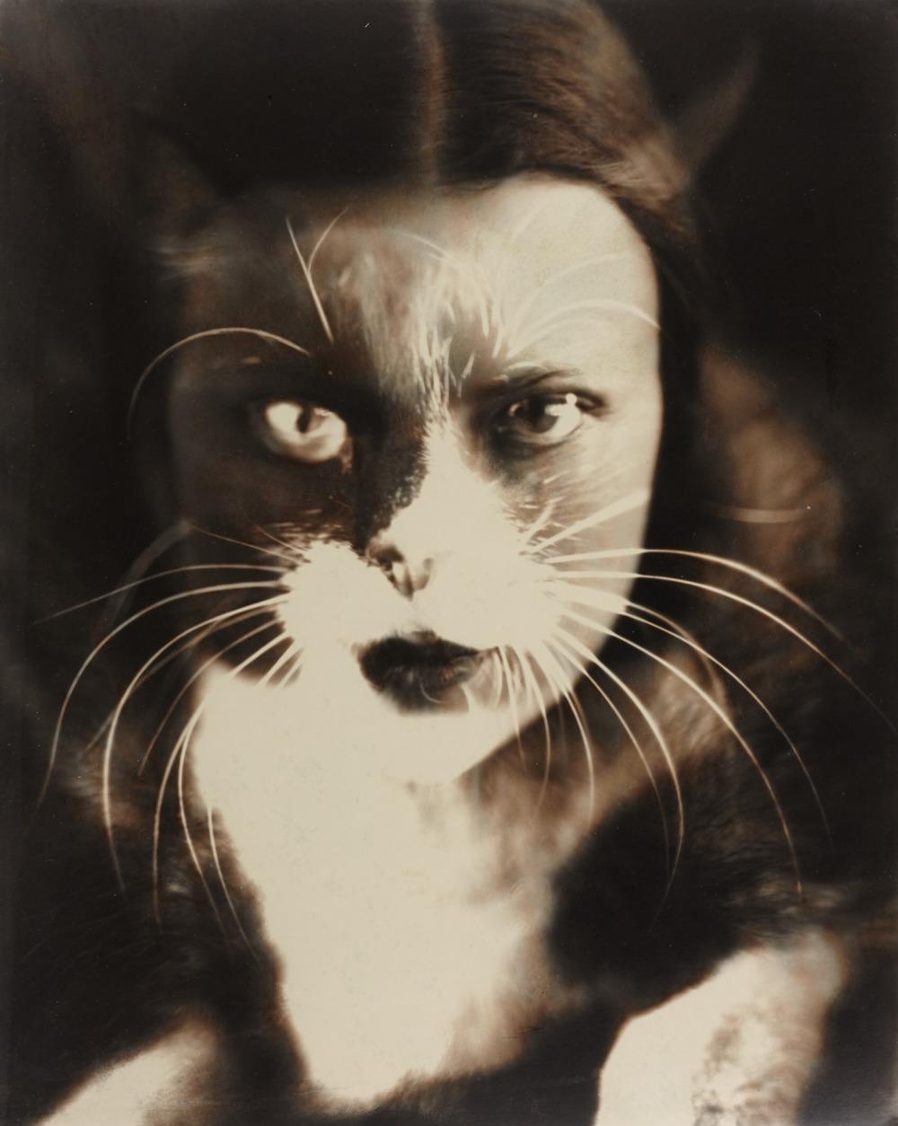 "Wanda Wulz ""Io + Gatto (self-portrait)"""