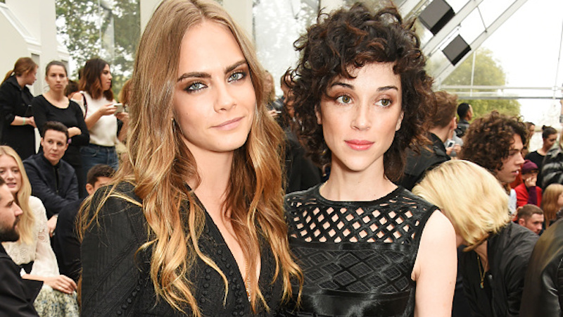 5. Annie Clark and Cara Delevingne
