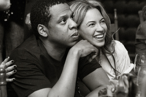 1. Beyonce and Jay Z
