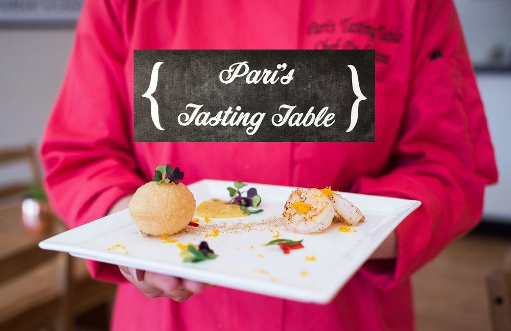 Pari's Tasting Table