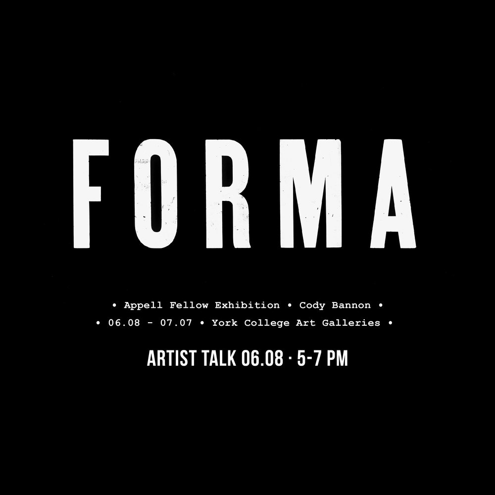 Forma - An Appell Fellow Exhibition