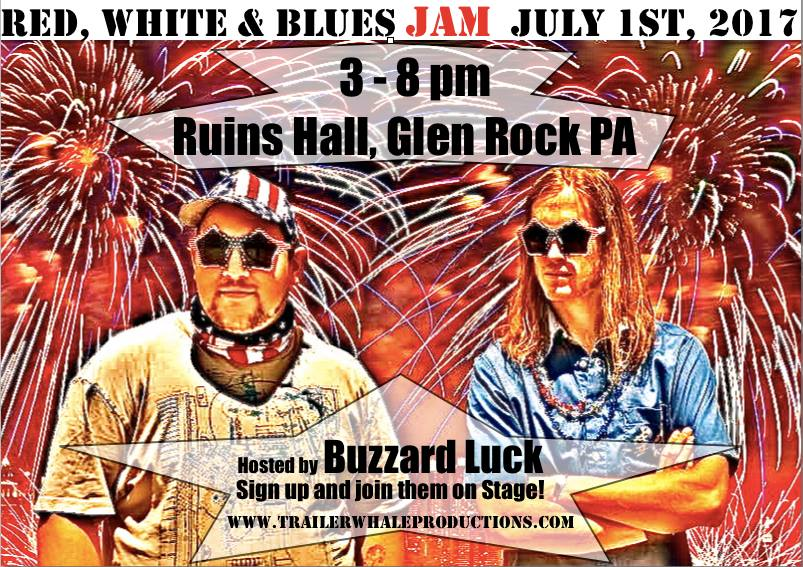 Red, White and Blues JAM