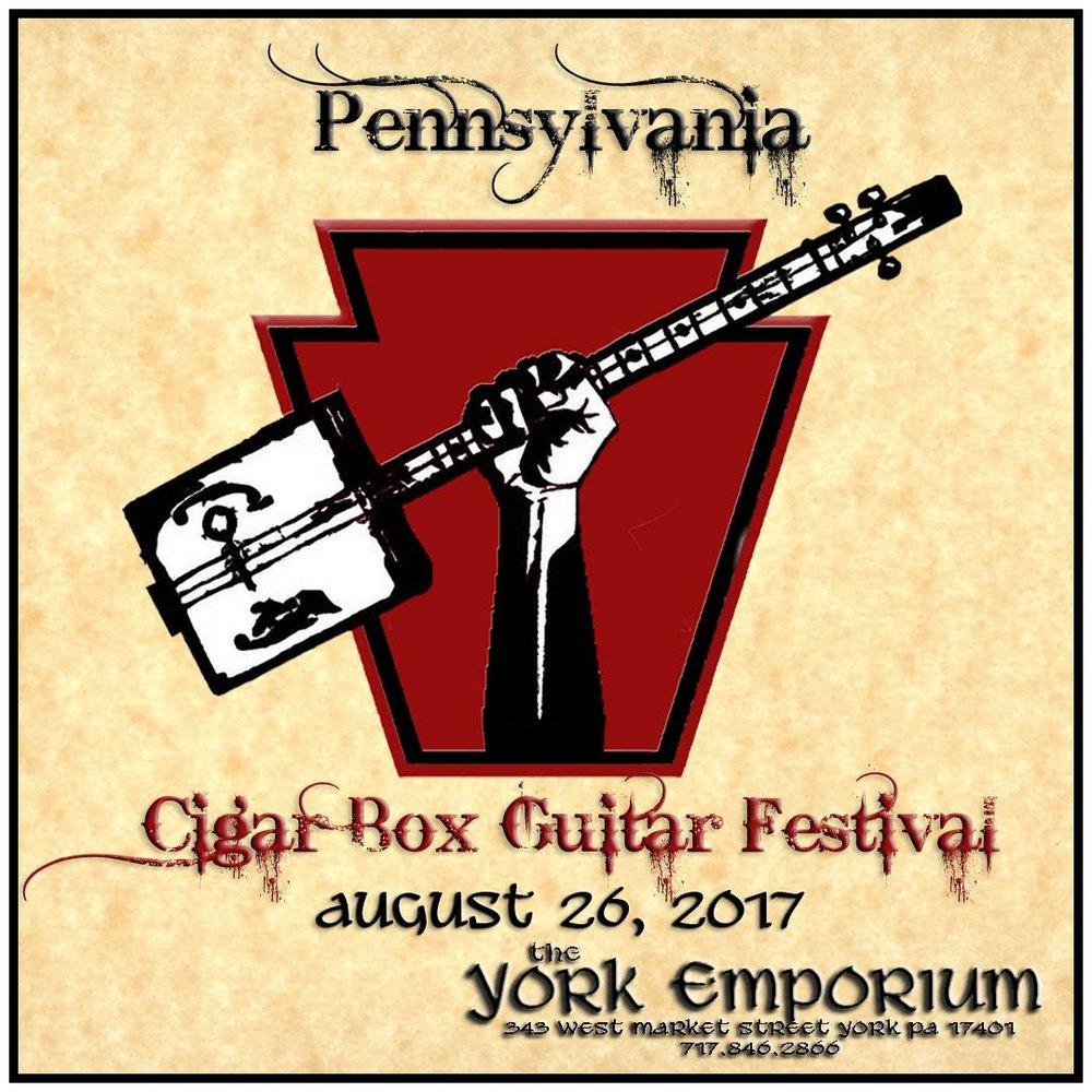 Cigar Box Guitar Festival