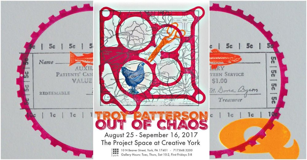 Troy Patterson: Out of Chaos