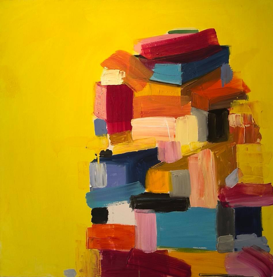 Urban Landscape, yellow by Eliana posey