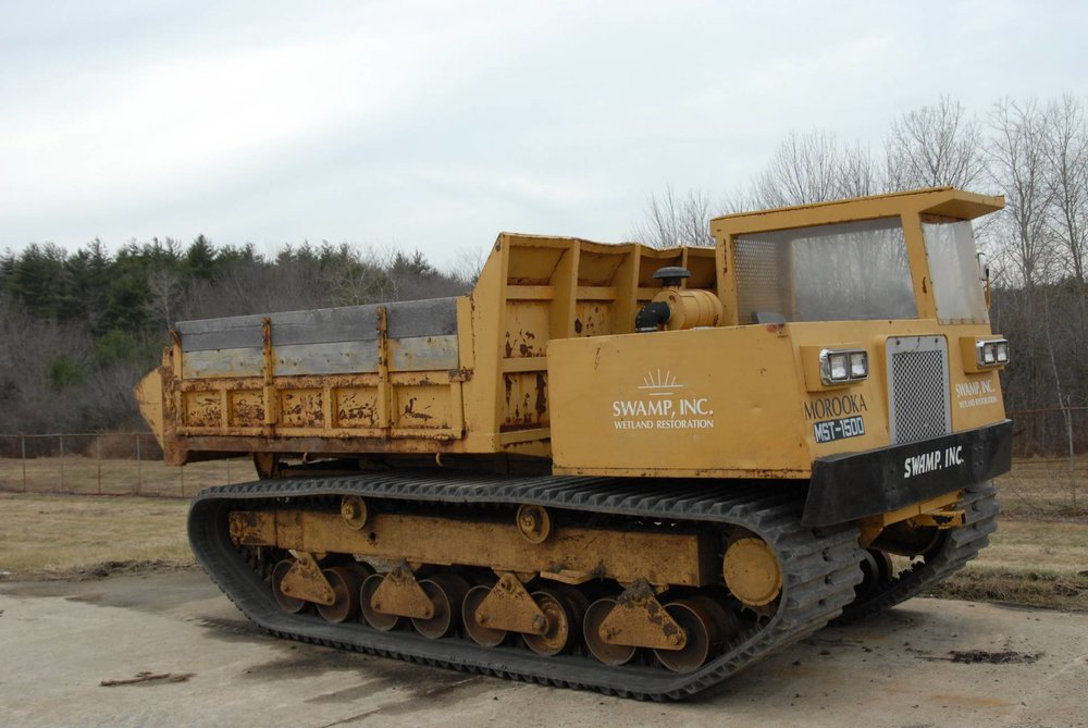 Marooka Low Ground Pressure Dump Carrier