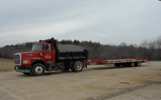 Swamp Inc. Dumptruck and Heavy Equipment Trailer